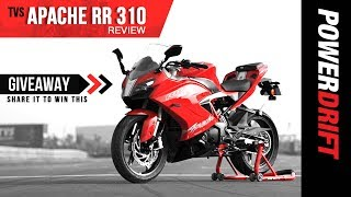 Video TVS Apache RR 310 First Ride Review : The New Contender? +Giveaway! MP3, 3GP, MP4, WEBM, AVI, FLV Desember 2017