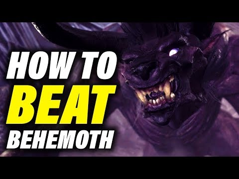 BEHEMOTH GUIDE & TIPS - Monster Hunter World