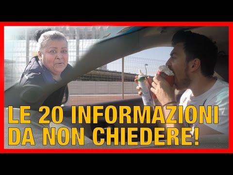 20 Informazioni da NON chiedere a un Passante da un'Automobile - [Esperimento Sociale] - theShow