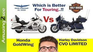 7. Honda GoldWing Vs. CVO limited - 2018 - Which is better Price & Touring Motorcycle for you??
