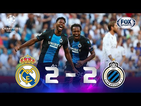 Real Madrid - Brujas [2-2] | GOLES | Grupo A | UEFA Champions League