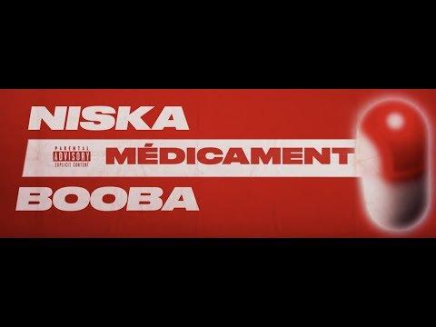 Niska - Médicament ft. Booba (Lyric vidéo) видео