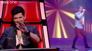 Bill Downs performs 'She Said' - The Voice UK - Blind Auditions 3 - BBC One