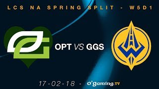 Video 💚OpTic Gaming💚 vs Golden Guardians - LCS NA Spring Split 2018 - Week 5 Day 1 - League of Legends MP3, 3GP, MP4, WEBM, AVI, FLV Juni 2018