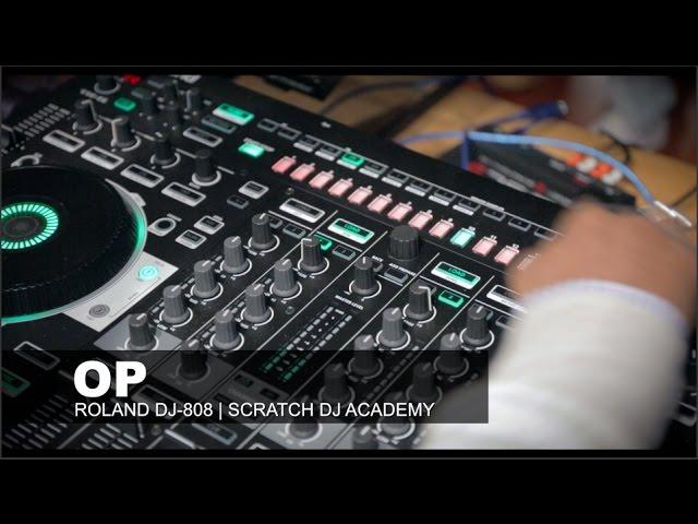 Roland DJ-808 Walkthrough   OP (Serato)   Watch And Learn