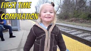 FIRST TIME COMPILATION ►► Watch this compilation of people, children, and animals trying, experiencing, discovering things for the first time. Babies eating lemons, puppies fighting mirrors, the blind seeing for the first time.►Visit the Clip'wreck Channel to see more awesome, funny, and  amazing Compilation Videos! (https://www.youtube.com/channel/UCTep0GOBv8YPhCCbXVtDBLQ)►Follow Clip'wreck on Twitter! (https://twitter.com/ClipwreckVideos)Music ►Blue Skies by Silent Partner► Good Starts by Jingle Punks***********************************************************I am not the creator of this content. I am just a compiler of online content I find enjoyable. For any concerns about content ownership, please contact me at the address listed in my channel description.***********************************************************