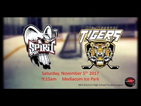 Spirit vs Tigers (Home Cam)