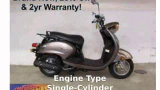 3. 2009 Yamaha Vino 125 - Info