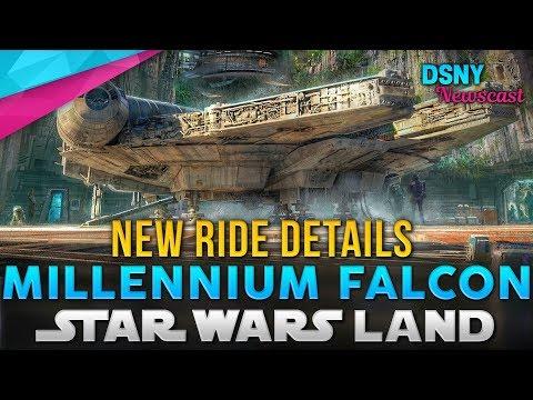 All-New MILLENNIUM FALCON Ride Details Revealed for Galaxy's Edge - Disney News - 12/17/17 (видео)