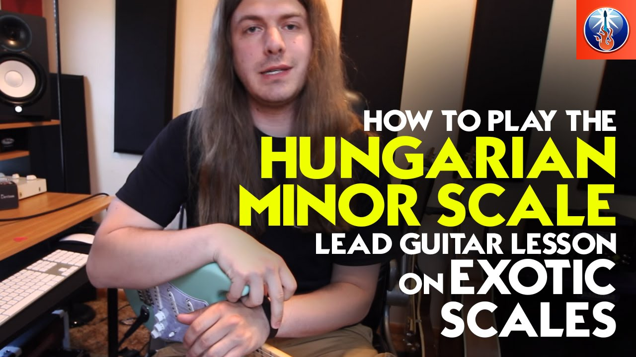 How to Play the Hungarian Minor Scale – Lead Guitar Lesson on Exotic Scales