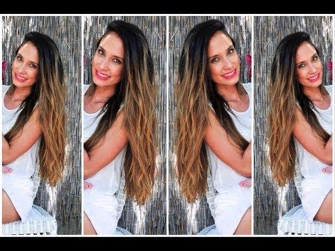Mi pelo + cuidado + color + consejos para que crezca rápido ♡