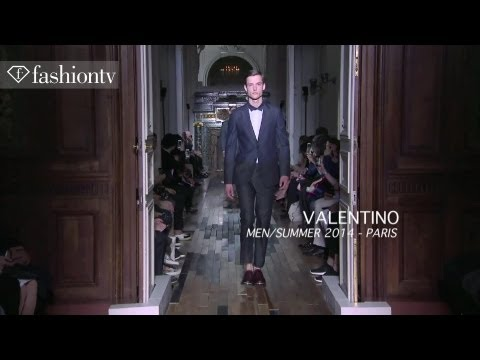 Valentino Men Spring/Summer 2014 Show | Paris Men's Fashion Week | FashionTV