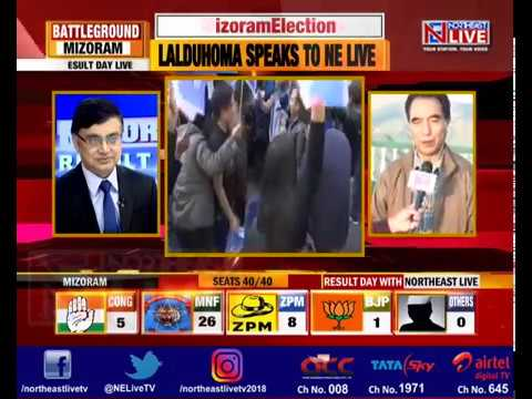#MizoramResults2018: Northeast Live Speaks To ZPM Chief Lalduhoma.