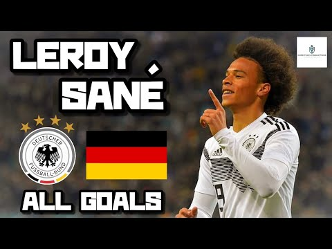 Leroy Sané • All Goals for Germany (HD)