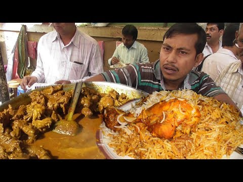 World's Cheapest Biryani In Kolkata Street Only 30 Rs Per Plate | Street Food Loves You