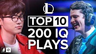 Video The Top 10 200 IQ League of Legends Plays MP3, 3GP, MP4, WEBM, AVI, FLV Agustus 2018