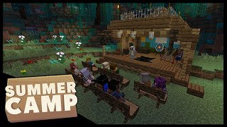 SUMMER IS HERE! | Minecraft Summer Camp SMP | #1