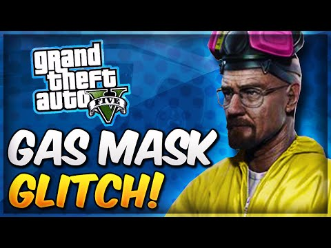 GTA 5 Online Heists GAS MASK GLITCH! Wear Chemical Gas Mask Without A Suit! (GTA 5 Glitches)