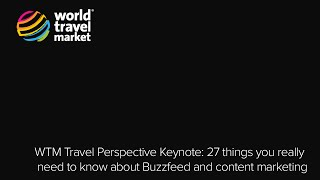 Travel Perspective: 27 Things You Really Need To Know About Buzzfeed&content Marketing