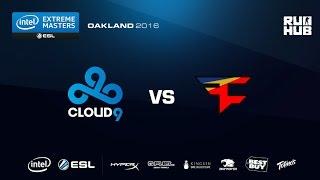 IEM Oakland - FaZe Clan vs Cloud9 - de_mirage - [CrystalMay, ceh9]