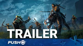 Middle-earth: Shadow of War PS4 Monsters Trailer | PlayStation 4 | Gamescom 2017