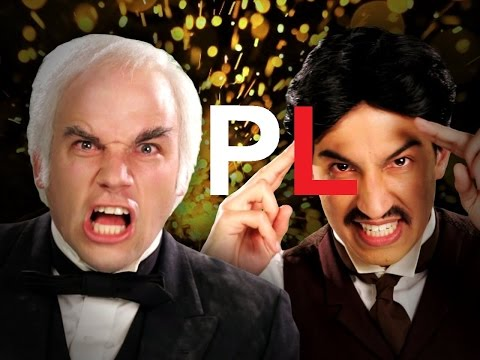 [PL] Nikola Tesla vs Thomas Edison. Epic Rap Battles of History Sezon 2.