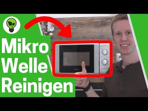 Mikrowelle reinigen // ULTIMATIVER LIFEHACK: Mit Zitrone & Essig Mikrowelle sauber machen?