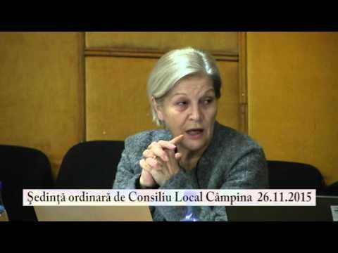 Sedinta Consiliul Local Campina – 26 noiembrie 2015 – partea a V-a