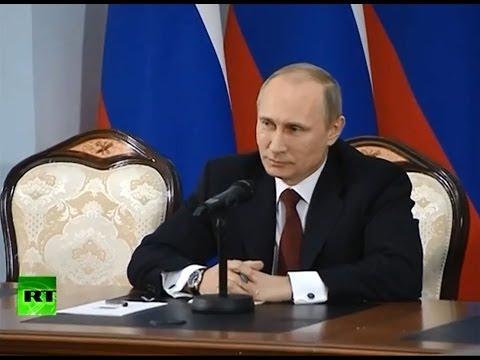 Владимир Путин: Акции в Киеве