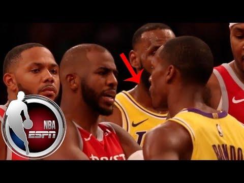 Lakers vs Rockets brawl as told by the players | NBA on ESPN_Sport videók