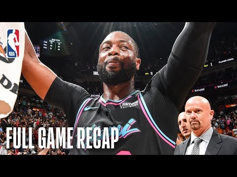 WARRIORS vs HEAT  Dwyane Wade Wins It For Miami  February 27, 2019