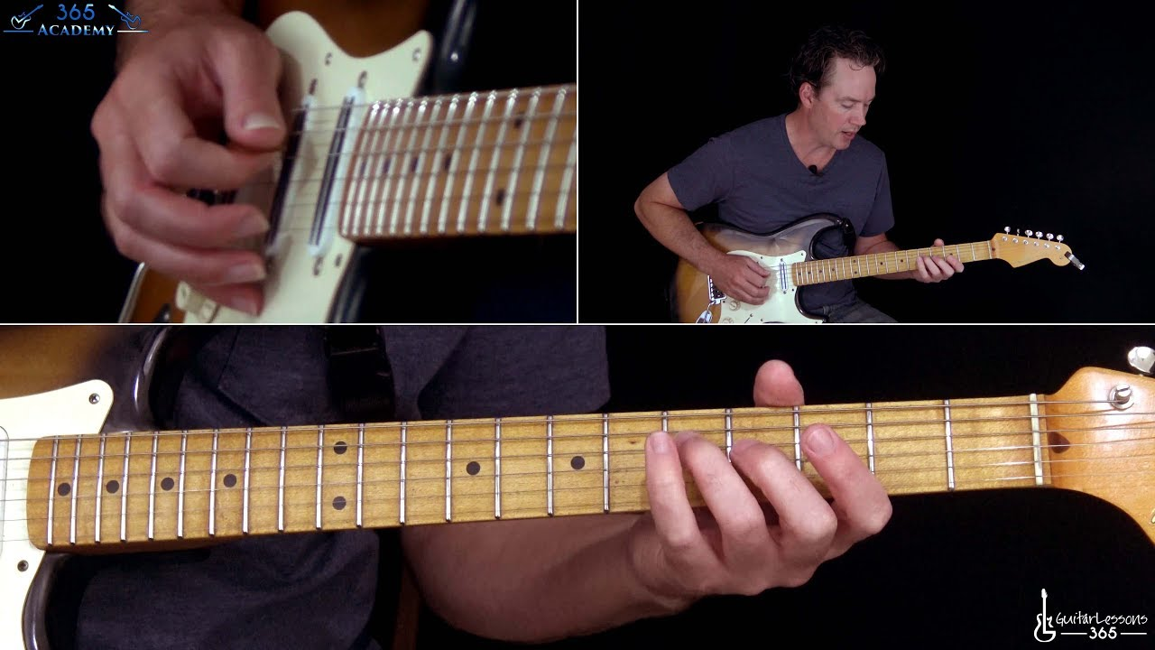 Runnin' With The Devil Guitar Lesson (Part 2) – Van Halen