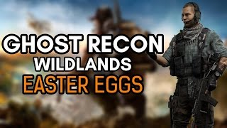 """There's some really good Easter eggs In this game and the map is huge so no doubt there are many more but for now heres a few…Hope you enjoy.Subscribe and Hit the Notification Bell to Keep up to Date with When I Upload!►Subscribe to me here!: http://www.youtube.com/subscription_c…►Follow me on Instagram: https://www.instagram.com/o_knightz_o/ ►Check out Other Easter Egg Here!: https://www.youtube.com/playlist?list=PLud5z0-p8XHghQADyX6zBUkw12elgapjuTom Clancy's Ghost Recon Wildlands is an open world tactical shooter video game developed by Ubisoft Paris. It is the tenth installment in the Tom Clancy's Ghost Recon franchise and is the first Ghost Recon game to feature an open world environment. The game moves away from the futuristic setting introduced in Tom Clancy's Ghost Recon Advanced Warfighter and instead feature a setting similar to the original Tom Clancy's Ghost Recon. Ubisoft described it as one of the biggest open world games that they have ever published, with the game world including a wide variety of environments such as mountains, forests, deserts and salt flats. Wildlands is an open world, tactical shooter utilising a third person perspective with an optional First-person view for gun aiming. Players play as members of the Ghosts, a """"fictional"""" elite special operations team in the United States Army. Music:Finding the BalancebyKevin MacLeodis licensed under aCreative Commons Attributionlicence (https://creativecommons.org/licenses/by/4.0/)Source:http://incompetech.com/music/royalty-free/index.html?isrc=USUAN1100708Artist:http://incompetech.com/"""