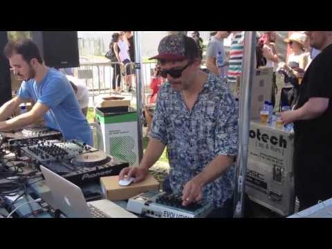 EKKOHAUS (live) at MOON HARBOUR Showcase, Barcelona (14JUN13)