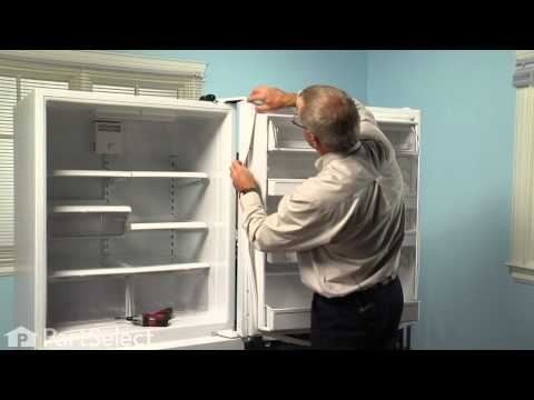 Refrigerator Repair- Replacing the Fresh Food Door Gasket (Whirlpool Part # 12550115Q)