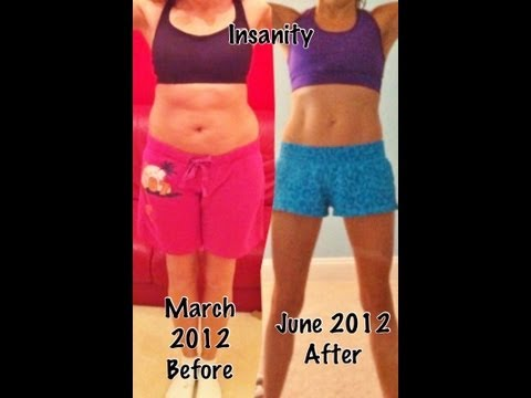 My Insanity Workout Results Beachbody & Shakeology Before & After Video Amazing Transformation