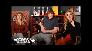 Nonton Lia Marie Johnson, Logan Paul & Peyton List Describe 'The Thinning'   Access Hollywood Film Subtitle Indonesia Streaming Movie Download