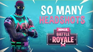 Download Video So Many Headshots!! - Fortnite Battle Royale Gameplay - Ninja MP3 3GP MP4
