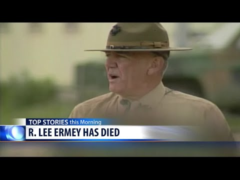 R. Lee Ermey has died