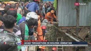 Video GEGER! Warga di Tebet, Jaksel Temukan Mayat Tergantung di Kolong Jembatan - BIM 19/02 MP3, 3GP, MP4, WEBM, AVI, FLV Februari 2019