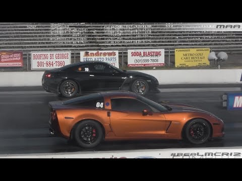 1100 HP Nissan GTR vs. Corvette Z06 || Hyundai Genesis vs. BMW M3
