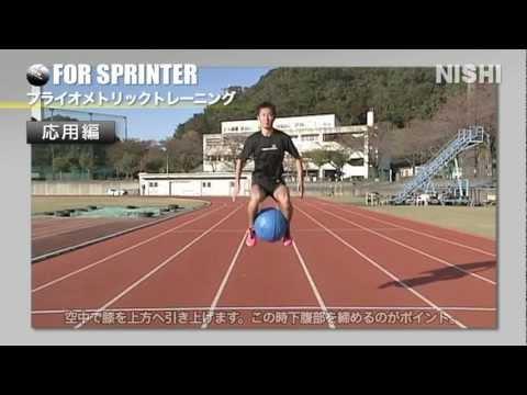 ジャンプで身体を鍛えよう!メディシンボールプライオメトリックス