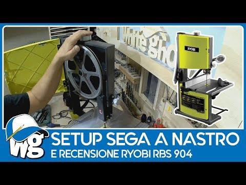 Setup sega a nastro e recensione Ryobi RBS904