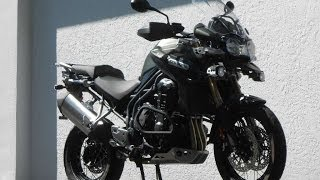 7. 2013 Triumph Tiger Explorer XC Ride Video Gulf Coast Motorcycles, Ft. Myers, FL