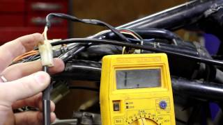7. Testing your motorcycle coil