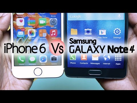 Galaxy NOTE 4 Vs iPhone 6 – Two Worlds! by Gadgets Portal
