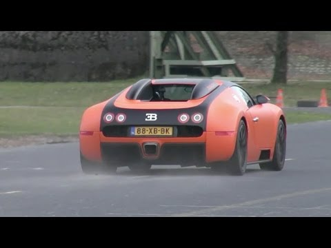 accelerating - Here is another amazing convoy of supercars, accelerating, powersliding and burning some rubber! This video shows an amazing linup, like the Bugatti Veyron 1...