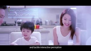 DWIN tft LCD Module 5.0 inch 854480 resolution commercial grade HMI touch screen youtube video
