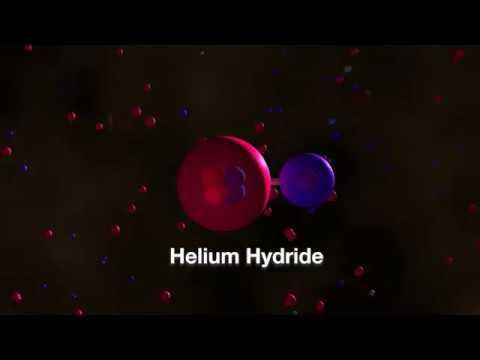 Video - Ανακαλύφθηκε το πρώτο μόριο που υπήρξε ποτέ στο σύμπαν