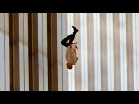 Люди падают из башен ВТЦ (11 сентября 2001 года) онлайн видео